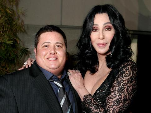 Chaz alături de mama sa, Cher