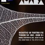 Concert Luna Amara Teatrul Fix