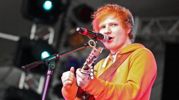 Ed Sheeran pe scenă