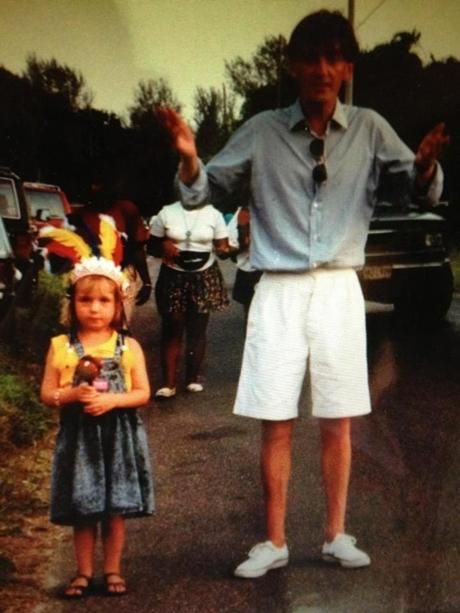 Florence cu tatăl său