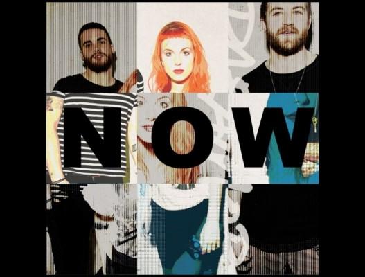 """Paramore Artwork """"Now"""""""