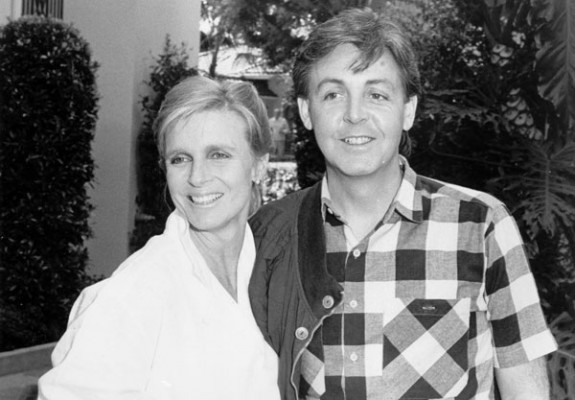 Linda și Paul McCartney