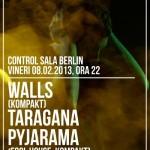 Poster Walls si Taragana Pyjarama Club Control 2013