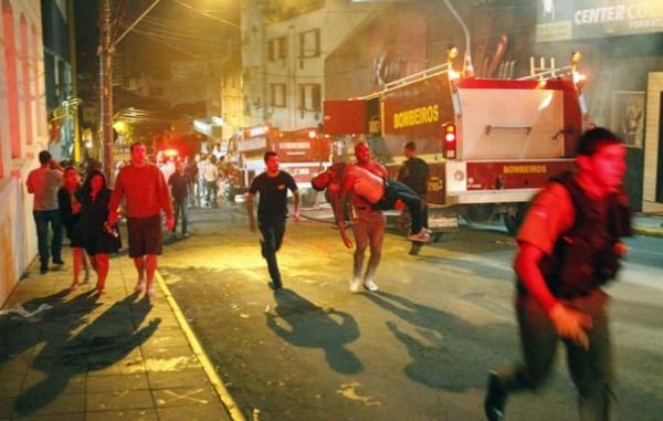Evenimentul petrecut în Brazilia este unul dintre cele mai tragice incidente petrecute in cluburi