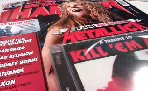 Tribut Metallica în revista Metal Hammer