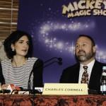 Raluca Popescu (Amphitrion) si Charles Cornell