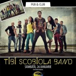 Concert Tibi Scobiola Band in Spice Club pe 26 ianuarie