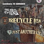 poster-concert-agelss-club-bucuresti-Recycle-Bin-26-ianuarie