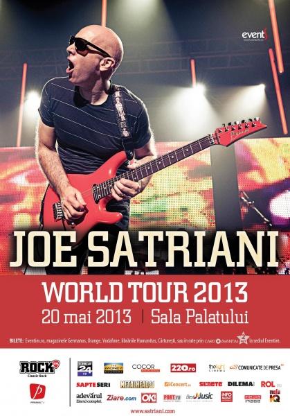 Joe Satriani la Sala Palatului
