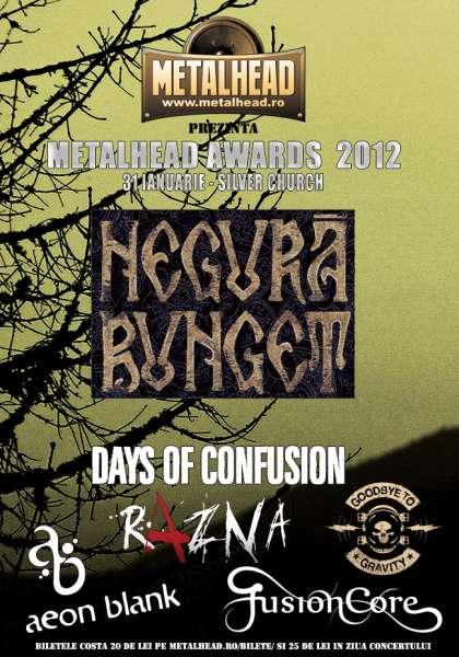Metalhead Awards 2012 la The Silver Church