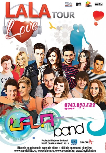 Poster eveniment LaLa Band - LaLa Love Tour