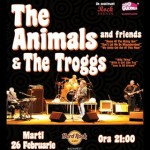 The Animals & friends și The Troggs, în concert la Hard Rock Cafe.