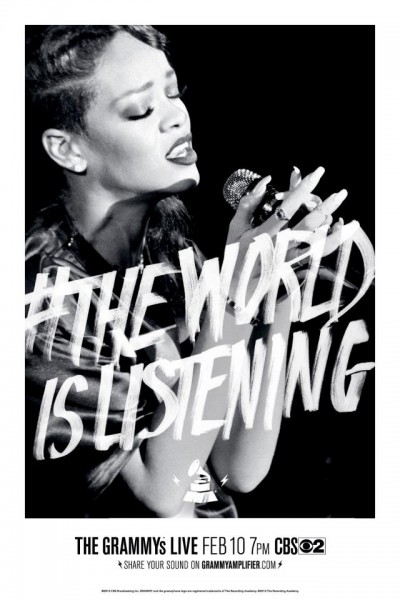 Rihanna - The World Is Listening - Grammy 2013
