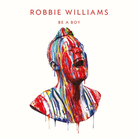 """Robbie Williams - """"Be A Boy"""" Single Cover"""