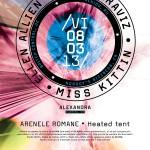 Poster The Mission - 8 Martie 2013 la Arenele Romane, București