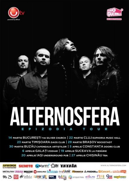 POSTER ALTERNOSFERA EPIZODIA TOUR 2013