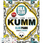 Poster Kumm Panic februarie 2013