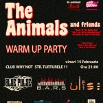 Warm-up Party The Animals& The Troggs