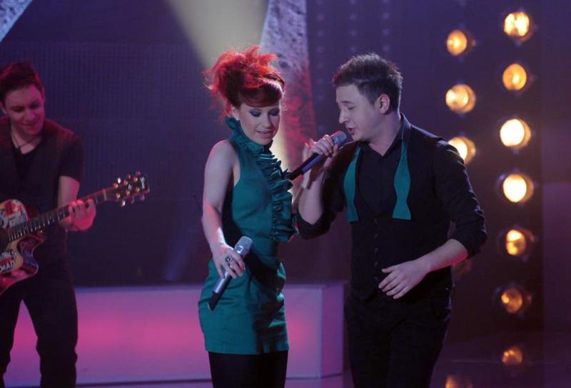Brigitta si Mihai in semifinala Eurovision 2013 - Romania