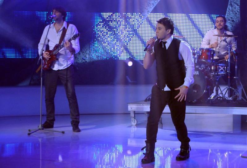 Cezar Dometi in semifinala Eurovision 2013 - Romania