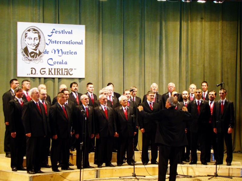 Corala DG Chiriac la Festivalul Internațional de Muzică