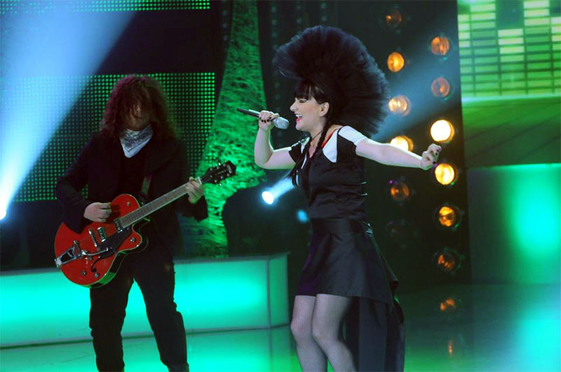Electric Fence in semifinala Eurovision 2013 - Romania