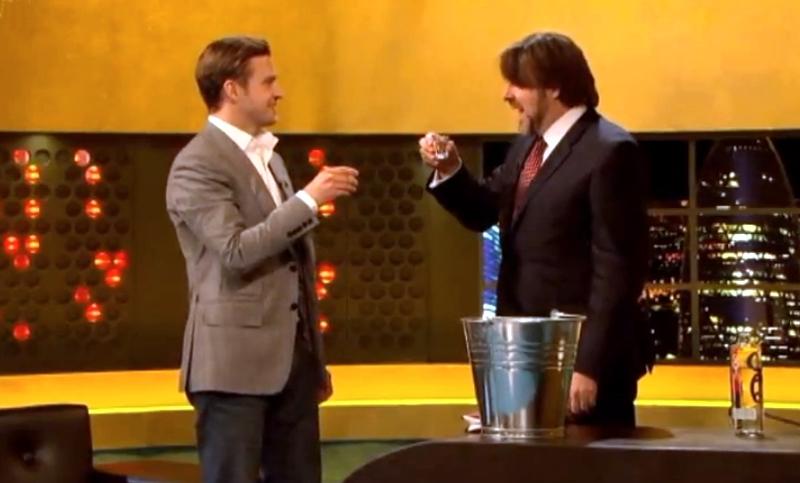 Jonathan Ross l-a provocat pe Justin Timberlake sa dea shot-uri de tequila în timpul emisiunii