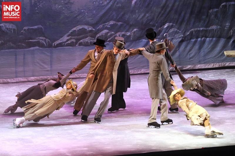 Lacul Lebedelor – The Imperial Ice Stars la Sala Palatului pe 20 februarie 2013