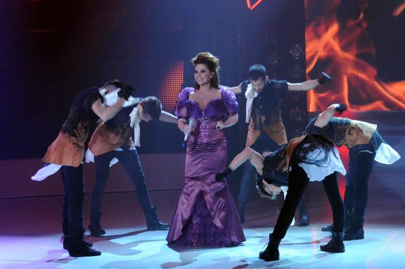 Luminita Anghel in semifinala Eurovision 2013 - Romania