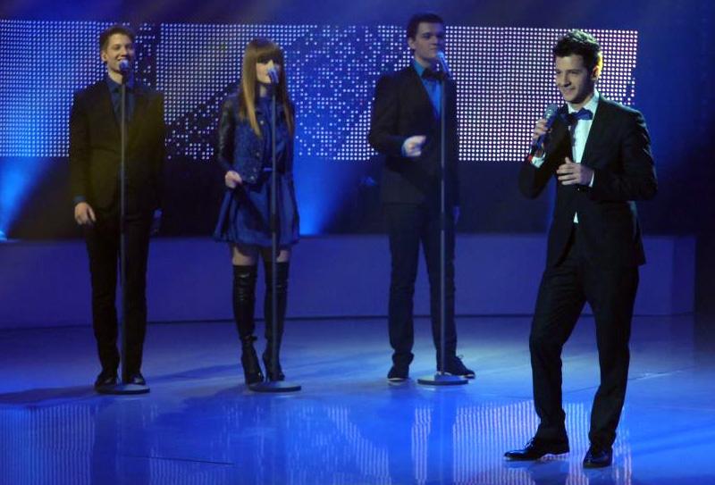 Maximilian Muntean in semifinala Eurovision 2013 - Romania