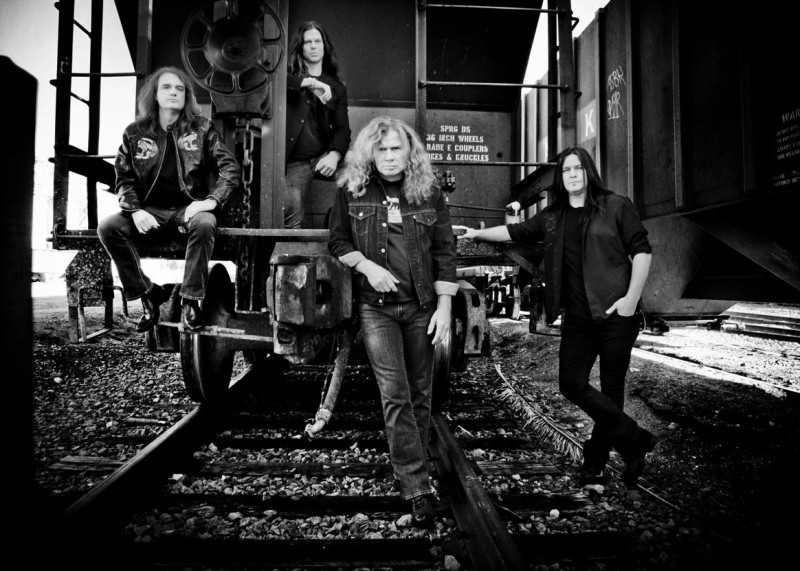 Trupa Megadeth în 2013