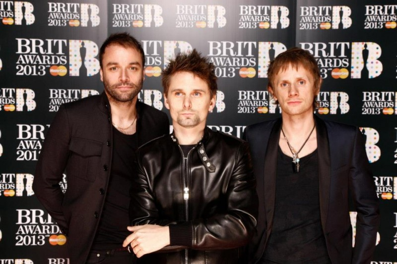 MUSE @ The Brit Awards 2013
