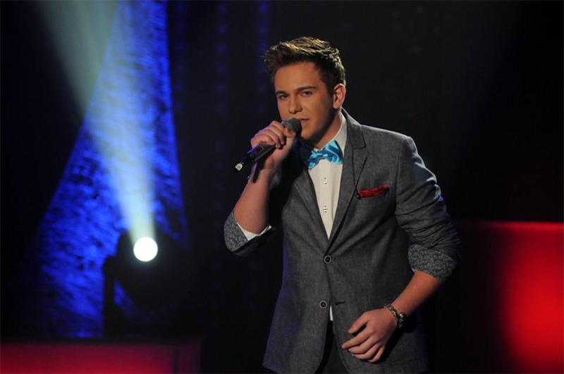 Narcis Iustin Ianău în semifinala Eurovision 2013 Romania