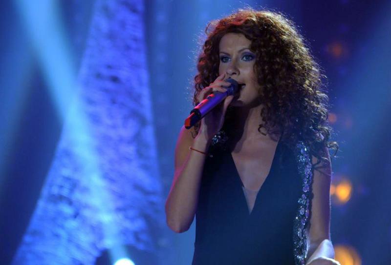Natalia Barbu in semifinala Eurovision 2013 - Romania