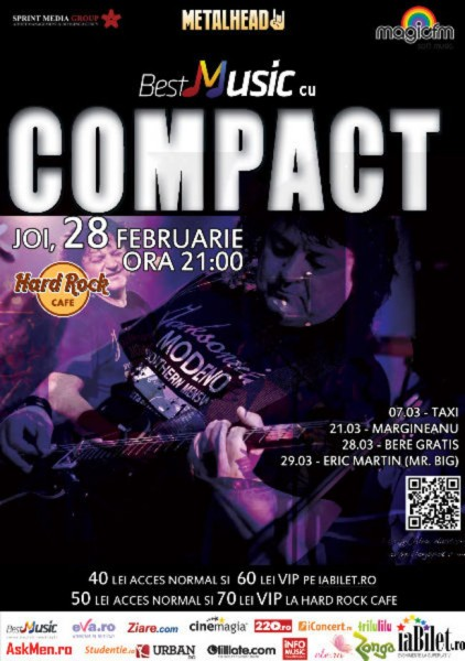 Poster eveniment Compact