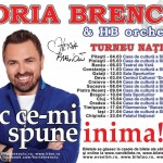 Poster turneul național Horia Brenciu - Fac ce-mi spune inima 2013