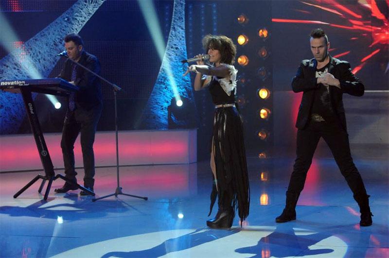 Renee Santana în semifinala Eurovision 2013 Romania