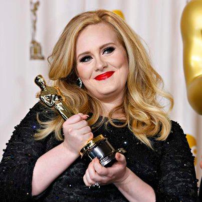 Adele a câștigat Premiul Oscar pentru Cel Mai Original Soundtrack 2013