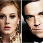 Adele și Robbie Williams, posibil duet