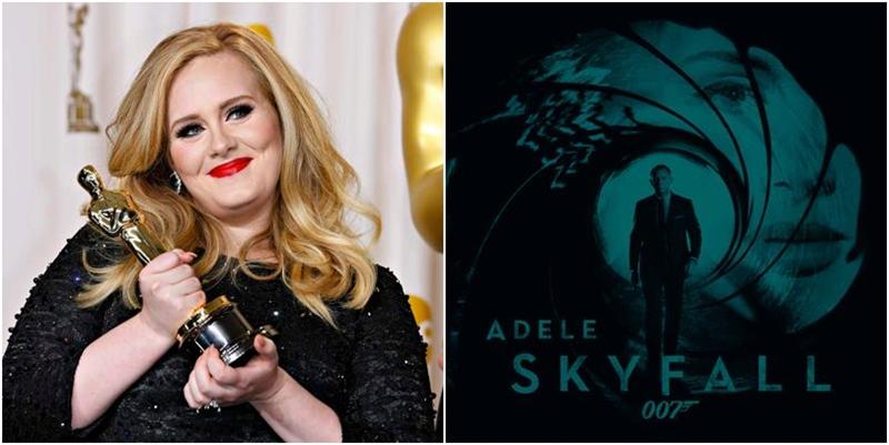 Adele cu Premiul Oscar pentru Cel Mai Original Soundtrack - Skyfall - James Bond 2013