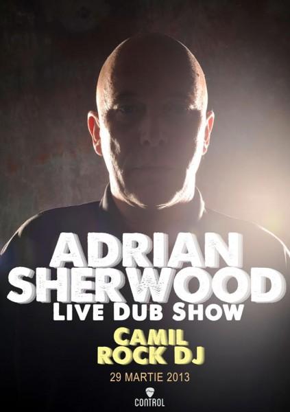 Afis concert Adrian Sherwood
