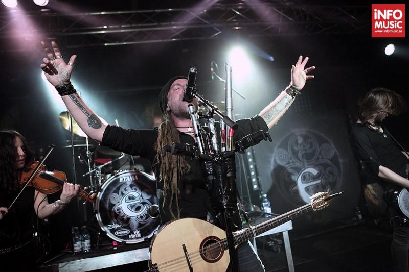 Concert Eluveitie la Turbohalle pe 19 martie 2013