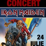 Concert Iron Maiden la Bucuresti