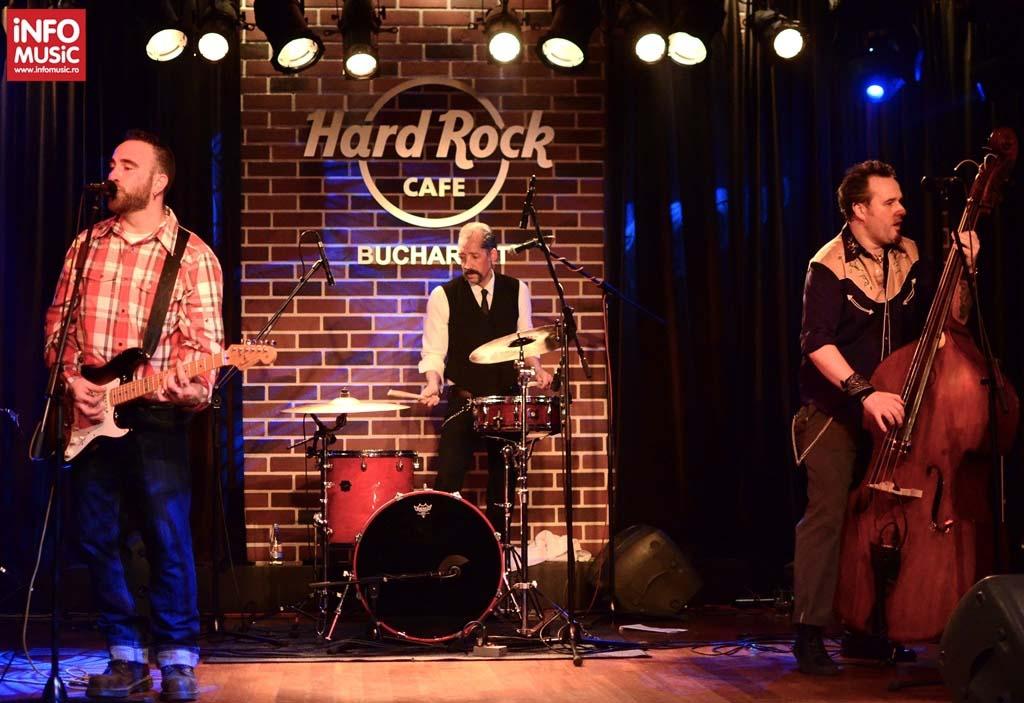 Concert Las Pistolas În Hard Rock Cafe - 9 martie 2013