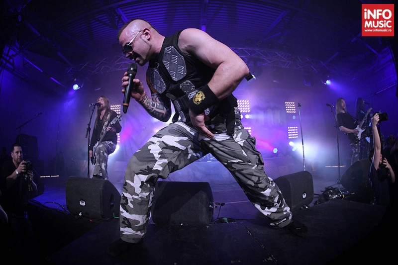 Concert Sabaton la Turbohalle pe 19 martie 2013