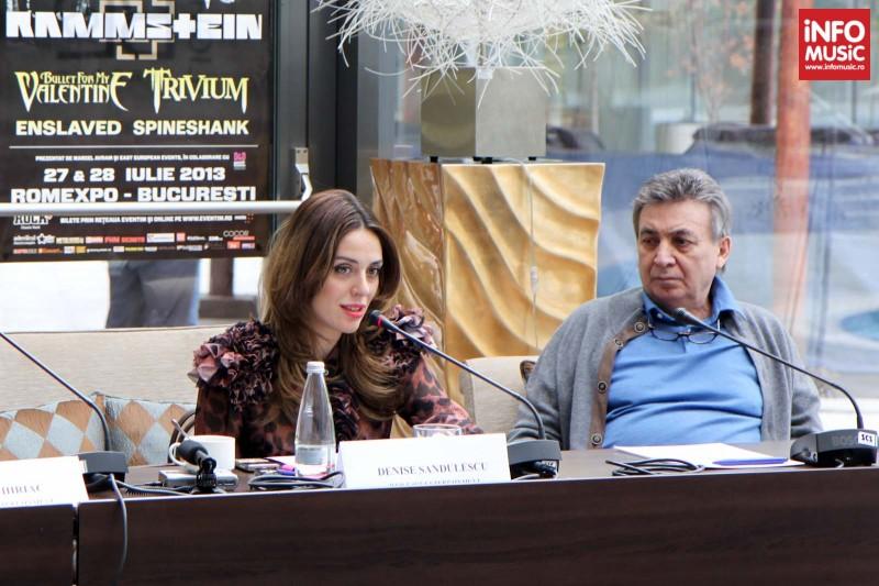 Denise Sandulescu (D&D East Entertainment) și Marcel Avram