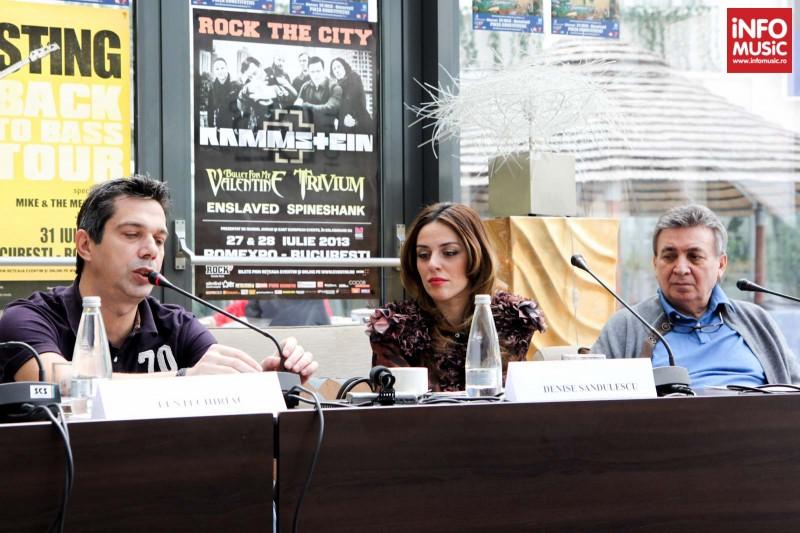 Conferinta de presa Marcel Avram, D&D East Ent, Lenti Chiriac