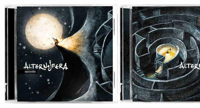 "Coperțile albumelor ""Epizodia"" și ""Virgula"""