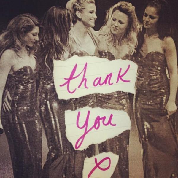 Cele din Girls Aloud si-au luat rămas bun de fani