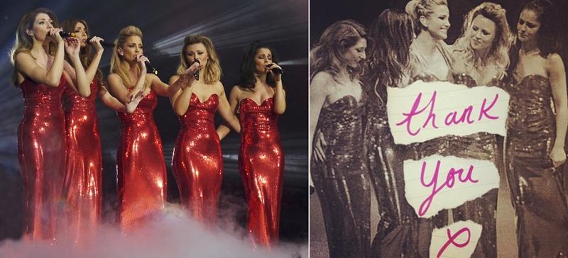 Girls Aloud a susținut ultimul concert, punând punct unei cariere de 10 ani